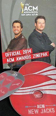 49 Acm Awards 2014  2 Cd 6 Guitar Picks Country Music 120 Pg Book  Blake Shelton