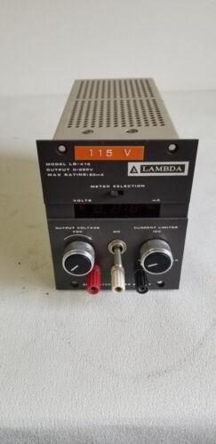 LAMBDA REGULATED POWER SUPPLY OUTPUT 0-250V MODEL LQ-415