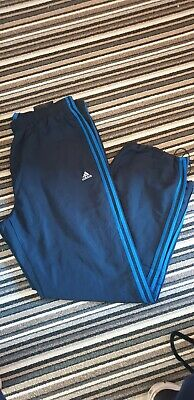 Adidas Climalite Navy Tracksuit Jogging Bottoms Size 2XL  3 Stripes