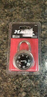 Master Lock Combination Lock 1500d 1-78 Factory Sealed