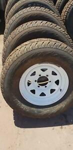 Toyota rims and tyres 265/70/16