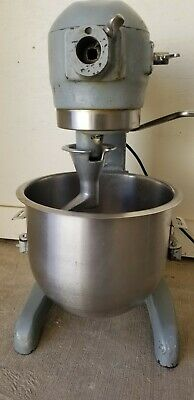 Hobart A120 12 Qt Quart Bakery Pizza Mixer W. New Bowl And Paddle