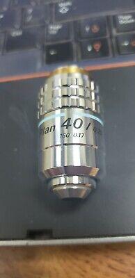 Nikon Plan 40 0.70 - 1600.17 40x Phase Contrast Microscope Objective 245133