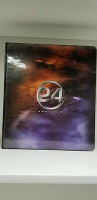 24 Season 3 Trading Card Binder Album RARE Hard to find