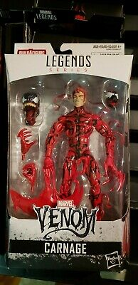 Marvel Legends Spider-Man Carnage Monster Venom Head BAF