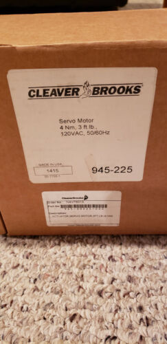 Cleaver Brooks 945-00225-000 Servo Motor Actuator Cleaver Brooks Labeled - New