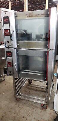 Eurofours Model 3u-04u10k2 4 Tray Elec Convection Bake Off Oven 10.2kwsteam