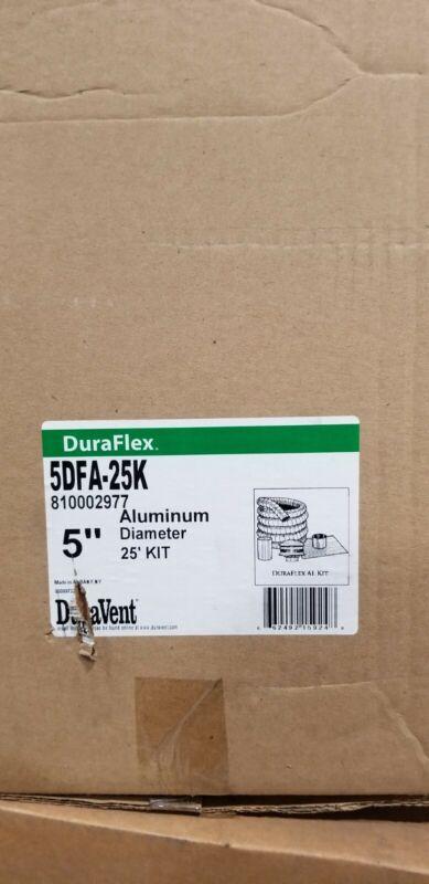 DURAVENT ALUM CHIMNEY LINER KIT - 5DFA-25K - 5 IN DIAMETER X 25 FT - NEW IN BOX
