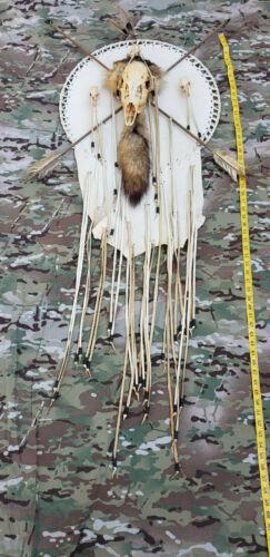 Beautiful Navajo Native American Animal Skull Spirit Dream Catcher Wall Decor