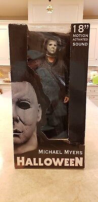 n Michael Myers Halloween Action Figure With Sound By NECA (Sound Factory Halloween)