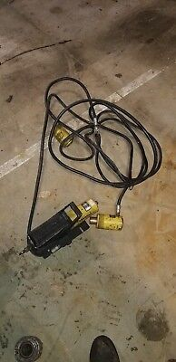 Enerpac Pa-133 Pneumatic Air Hydraulic Foot Pump 10000 Psi W2 Enerpac Rch-1212