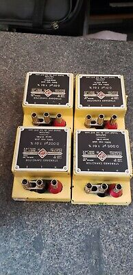 General Radio Co. Standard Capacitor Type No. 1409-g K L M R T And Y