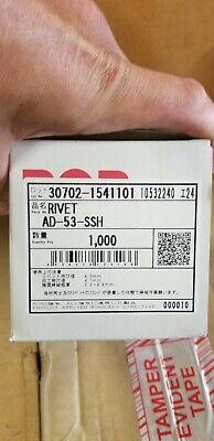 Box Of 1000 Emhart Pop Blind Rivet Ad-53-ssh Ad53ssh Stainless Steel