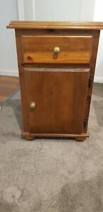 2 x Wooden bedside tables for sale