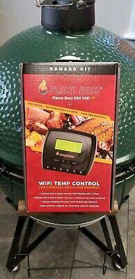 Flame Boss 500 WiFi BBQ Temp Controller Fan FB500 KAMADO Joe Big Green Egg Primo Big Green Egg Bbq