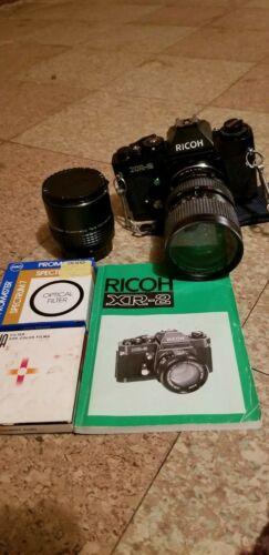 Vintage RICOH XR 2 black 35 mm camera