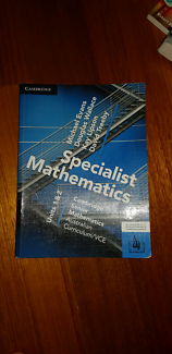 Cambridge Senior Spec Maths VCE 1&2 Print