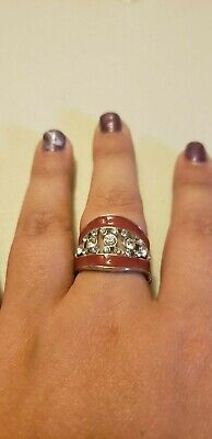 Paparazzi Ring (one size fits most) (new) TRENDING TREASURE RED (Most Trending)