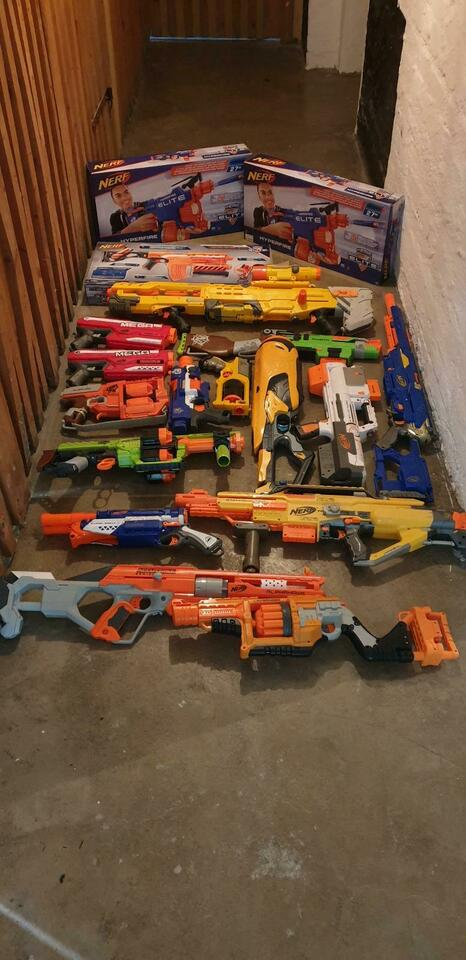 Nerf waffen alle Weapons