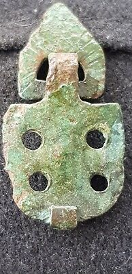 Rare Viking copper/bronze pendant/amulet superb wearable ancient artefact L54t