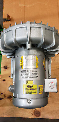 Gast R5325a-2 Regenerative Blower 3ph 1.85hp 50hz 2.5hp 60hz