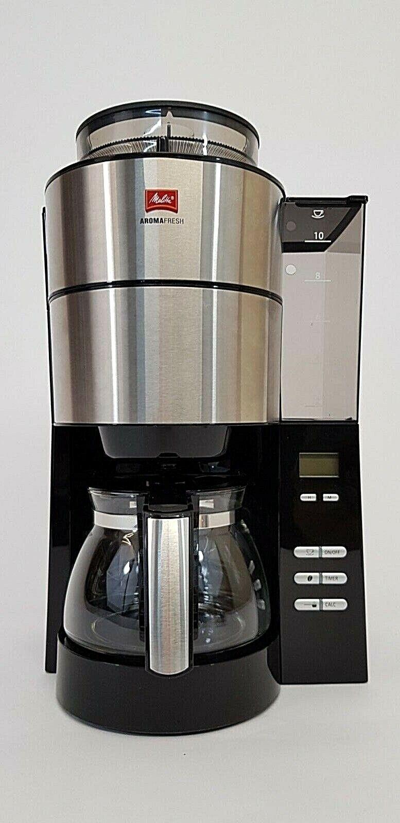 Kaffeemaschine mit Timer und Mahlwerk MELITTA 1021-01 Aroma Fresh , Gebraucht