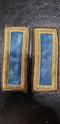 Civil war Infantry shoulder boards