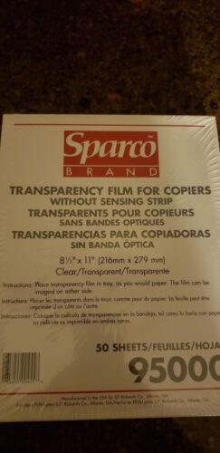 Clear Transparency Paper for Copiers print or write overheads qty 50 sales