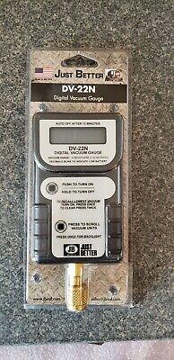 Just Better (JB Industries) Digital Vacuum Gauge DV-22n - Brand