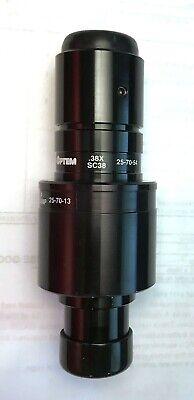 Optem Sc38nf 0.38x C-mount Coupler For Nikon Microscopes