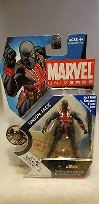 MARVEL UNIVERSE 3.75 UNION JACK FIGURE #026 Marvel Universe Union Jack