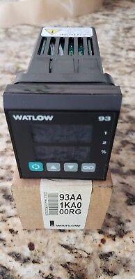 Watlow 93aa-1ka0-00rg Temperature Control