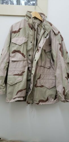 Military Issued 3 Color Desert M65 Field Jacket-NEW with Tags-MR