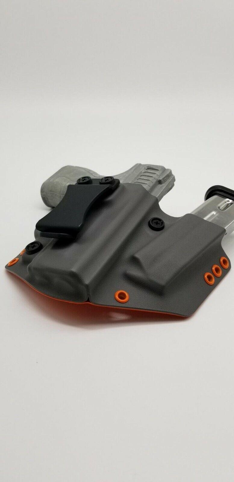 Sig Sauer P320 M17 Gray & Orange Kydex Inside Waist IWB Hade
