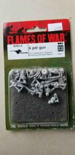 Flames of War British 6 pdr Gun
