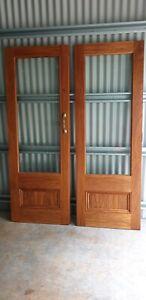 Doors Pair of of glass or/timber doors
