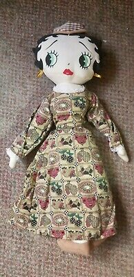 """Nostalgic Betty Boop Doll Long Dress And Hat From Way Back Approx 16"""" Kelly Toy  Betty Boop Long Dress"""