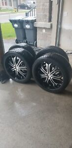 4 Low-Profile 22 inch Tires (265/35R22 102V XL)
