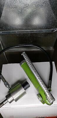 Greenlee 767a Hydraulic Punch Set --pump Ram Punches