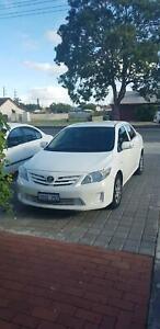 Toyota Corolla 2011. Uber registered