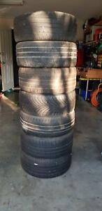 Assorted skid/drift tyres (5 left)