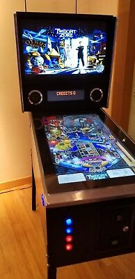 "42"" Full Size Virtual Pinball Machine cabinet Coin Mech with free 880 game SSD"