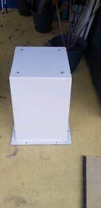 Boat seat box, fibreglass