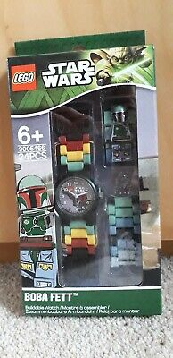 Star Wars Lego Boba Fett Buildable Watch Brand New