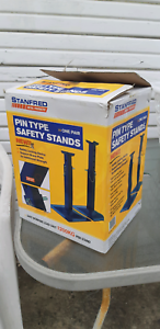 Car Stands Safety Stands Pin Type 1200kg per stand 2 x BOXES  Sydney City Inner Sydney Preview