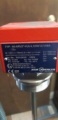 Ksr-kuebler Stainless Steel Float Switch 60-arv2-vuu-l125012-v44a-ex