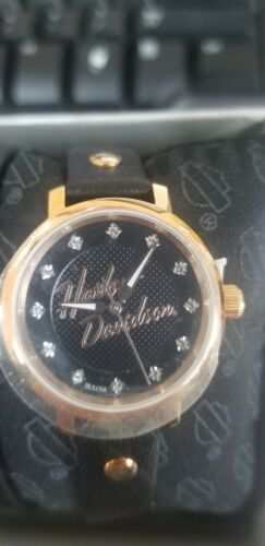 Ladies Harley Davidson Bulova Watch