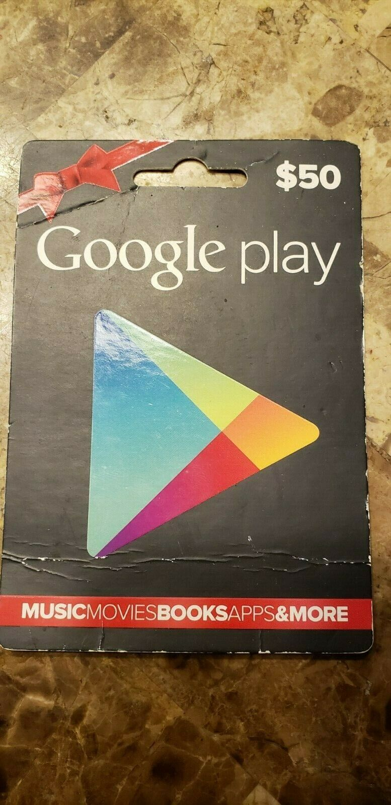 Google Play 50 USD Gift Card - $45.00