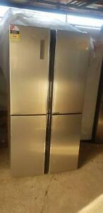 NEW HISENSE 695LTS QUAD DOOR REFRIGERATOR RRP $1,699