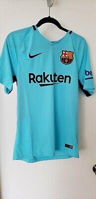 5962a6fed5b Mens Sz S Nike 847254 484 FC Barcelona 17/18 Stadium Away Soccer Jersey